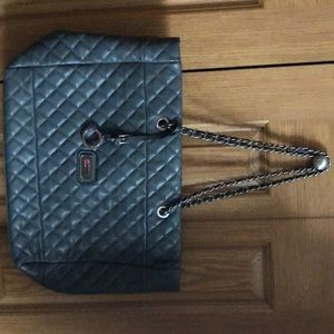 4d0228905070 Never used Dark Gray Catherine Malandrino Tote